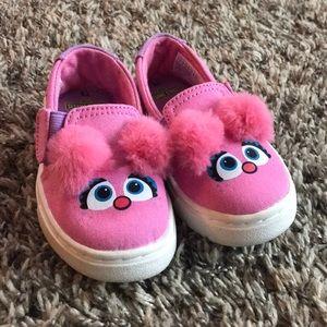 Sesame Street x Toms Abby Cadabby Canvas Shoes